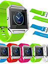For Fitbit Blaze Genuine Silicone Watch Straps For Fitbit Blaze Replacement Band Meatal Frame