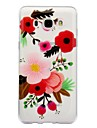 Case For Samsung Galaxy J7 (2017) J3 (2017) IMD Transparent Pattern Back Cover Flower Soft TPU for J7 (2016) J7 (2017) J5 (2017) J5