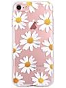 Назначение iPhone X iPhone 8 Чехлы панели Ультратонкий С узором Задняя крышка Кейс для Цветы Мягкий Термопластик для Apple iPhone X