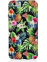 Pour iPhone X iPhone 8 Etuis coque Motif Coque Arriere Coque Arbre Fruit Flexible PUT pour Apple iPhone X iPhone 8 Plus iPhone 8 iPhone 7