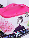 Caixas de Joias Armazenamento de Maquiagem Joias caixa de armazenamento com Caracteristica e Portatil , Para Uso Generico