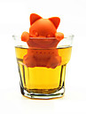 1pc pet passoire a the en silicone mignon creatif, #