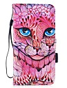 For iPhone 7 iPhone 7 Plus Case Cover Wallet Card Holder with Stand Flip Pattern Magnetic Full Body Case Animal Hard PU Leather for Apple