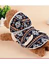 Chien Pulls a capuche Combinaison-pantalon Gilet Vetements pour Chien Decontracte / Quotidien Geometrique Bleu de minuit Gris Costume