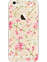 For iPhone 7 iPhone 7 Plus Case Cover Ultra-thin Transparent Pattern Back Cover Case Flower Soft TPU for Apple iPhone 7 Plus iPhone 7