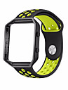 para fitbit blaze smart fitness watch sport silicone replacement strap band frame