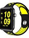Smartwatch dm09 bluetooth runder Bildschirm Leben wasserdicht Sport fuer Android-Ios-Telefone mit SIM-Karte Pedometer Schlaf Fitness Tracker