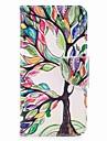 케이스 제품 V30 Q6 카드 홀더 지갑 스탠드 플립 마그네틱 패턴 전체 바디 케이스 나무 하드 PU 가죽 용 LG V30 LG Q6