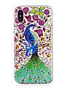 케이스 제품 Apple iPhone X / iPhone 8 Plus 야광 / IMD / 패턴 뒷면 커버 동물 소프트 TPU 용 iPhone X / iPhone 8 Plus / iPhone 8
