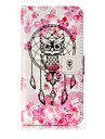 For Case Cover Card Holder Wallet with Stand Flip Pattern Full Body Case Owl Hard PU Leather for Samsung Galaxy J7 (2017) J5 (2016) J5