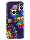 Case For J7 (2017) J5 (2017) Glow in the Dark IMD Pattern Back Cover Owl Soft TPU for J7 (2016) J7 (2017) J5 (2016) J5 (2017) J3 J3