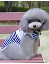 Собака Жилет Одежда для собак Морской Красный Синий Хлопок Костюм Для домашних животных Муж. Жен. На каждый день
