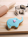 Cake Molds Elephant Cooking Utensils Stainless Steel Baking Tool