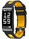 0,96 polegadas bracelete inteligente ip67 prova de agua longas calorias de espera queimadas pedometros monitor de ritmo cardiaco