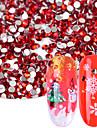 1440 Purpurina Ornamentos Acessorio Kit Strass e Lantejoulas Joias de unha Acessorios Decorativos Cristal Estiloso Brilhante Fashion
