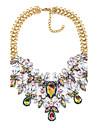 Pentru femei Coliere Choker - Declarație Auriu Coliere Bijuterii Pentru Petrecere, Scenă