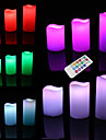 LED Lighting Toys Round Cylindrical Holiday Bulb Included Flourescent Remote Control Adults\' Pieces
