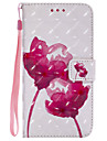 Case For Samsung Galaxy J7 (2017) J5 (2017) Card Holder Wallet with Stand Flip Pattern Full Body Flower Hard PU Leather for J7 Prime J7