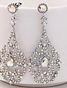Women\'s Rhinestone Rhinestone Drop Earrings - Elegant For Wedding Stage