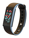 Smart Bracelet Touch Screen Heart Rate Monitor Calories Burned Pedometers Exercise Record Distance Tracking Anti-lost Audio Multifunction