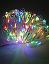 ZDM® 100 LEDs 10M String Light Warm White Cold White Color-changing Purple Green Yellow Blue Red Decorative <5V