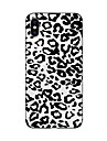 Capinha Para iPhone X iPhone 8 Transparente Estampada Capa Traseira Estampa de Leopardo Macia TPU para iPhone X iPhone 8 Plus iPhone 8