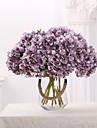 Artificial Flowers 1 Branch Vintage Hydrangeas Tabletop Flower