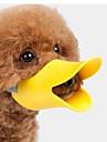 Psy Kagańce Wodoodporny Przenośny Bezpieczeństwo Solidne kolory Silikon Żółty Kawowy Różowy