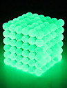 64 pcs 5mm Magnet Toy Magnetic Balls Building Blocks Super Strong Rare-Earth Magnets Neodymium Magnet Strand Magnetic Type Stress and Anxiety Relief Relieves ADD, ADHD, Anxiety, Autism Kid\'s / Adults\'