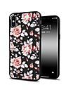 Etui Til Apple iPhone X / iPhone 8 Plus Moenster Bakdeksel Blomsternaal i krystall Myk TPU til iPhone XS / iPhone XR / iPhone XS Max
