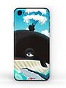 1개 스킨 스티커 용 스크래치 방지 유화 패턴 무광 PVC iPhone 7