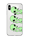 Case For Apple iPhone X iPhone 8 Plus iPhone 5 Case iPhone 6 iPhone 7 Ultra-thin Transparent Pattern Back Cover Cartoon Soft TPU for