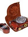 Artistique/retro Une epaule Sacs pour appareil photo Couvres PU