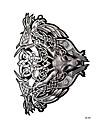 1 pcs Tetovací nálepky dočasné tetování Zvířecí řada Tělesné Arts paže / rameno