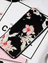 Capinha Para Apple iPhone 8 / iPhone 8 Plus Estampada Capa traseira Flor Macia TPU para iPhone 8 Plus / iPhone 8 / iPhone 7 Plus