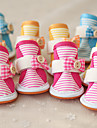 Dog Boots / Shoes Casual / Daily Stripe Orange / Fuchsia / Blue For Pets
