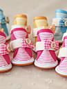Chien Chaussures & Bottes Decontracte / Quotidien Rayure Orange / Fuchsia / Bleu Pour les animaux domestiques