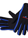 Dive&Sail Diving Guanti 1,5 mm neoprene Dita intere Dislittamento Immersioni / Surf / Canottaggio