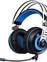 SADES A7-3 Headband Wired Headphones Dynamic Plastic Gaming Earphone with Microphone Headset