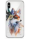 Custodia Per Apple iPhone X / iPhone 8 Ultra sottile / Transparente / Fantasia / disegno Per retro Animali Morbido TPU per iPhone X / iPhone 8 Plus / iPhone 8