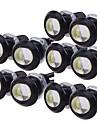 10pcs Lamput 9W Teho-LED 1 Huomiovalot For Universaali General Motors Kaikki vuodet