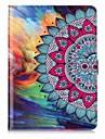 Θήκη Za Samsung Utor za kartice Novčanik sa stalkom Uzorak Auto Sleep / Wake Up Korice Cvijet Tvrdo PU koža za Tab S3 9.7 Tab E 9.6 Tab E