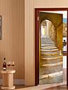 Asetelma Maisema Wall Tarrat Lentokone-seinätarrat 3D-seinätarrat Koriste-seinätarrat, Vinyyli Kodinsisustus Seinätarra Seinä Lasi / WC