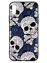 Case For Apple iPhone X iPhone 8 Pattern Embossed Back Cover Skull Hard PC for iPhone X iPhone 8 Plus iPhone 8 iPhone 7 Plus iPhone 7