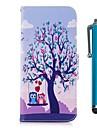 케이스 제품 LG K10 (2017) 카드 홀더 지갑 스탠드 플립 마그네틱 전체 바디 케이스 부엉이 하드 PU 가죽 용 LG K10 (2017) LG K8 LG K7
