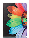 Custodia Per Apple iPad Pro 10.5 / iPad (2017) A portafoglio / Con supporto / Con chiusura magnetica Integrale Fiore decorativo Resistente pelle sintetica per iPad Air / iPad 4/3/2 / iPad Pro 10.5