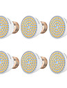 YWXLIGHT® 6pcs 7W 500-700lm E26 / E27 LED Spotlight 72 LED Beads SMD 2835 Warm White Cold White Natural White 110-130V 220-240V