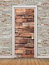 경치 3D 벽 스티커 플레인 월스티커 3D 월 스티커 데코레이티브 월 스티커 냉장고 스티커, 비닐 홈 장식 벽 데칼 냉장고 벽 장식 1 개