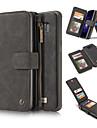 케이스 제품 Samsung Galaxy Note 8 Note 5 카드 홀더 지갑 스탠드 전체 바디 케이스 한 색상 하드 진짜 가죽 용 Note 8 Note 5