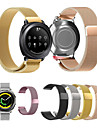 Watch Band for Gear Sport Gear S2 Classic Huawei Watch 2 Samsung Galaxy Milanese Loop Stainless Steel Wrist Strap